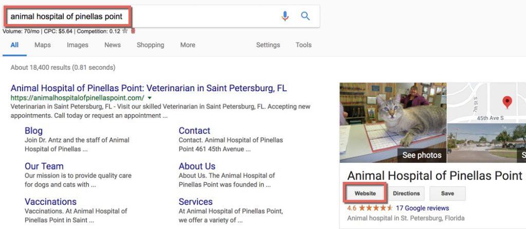 find-google-my-business-website-link