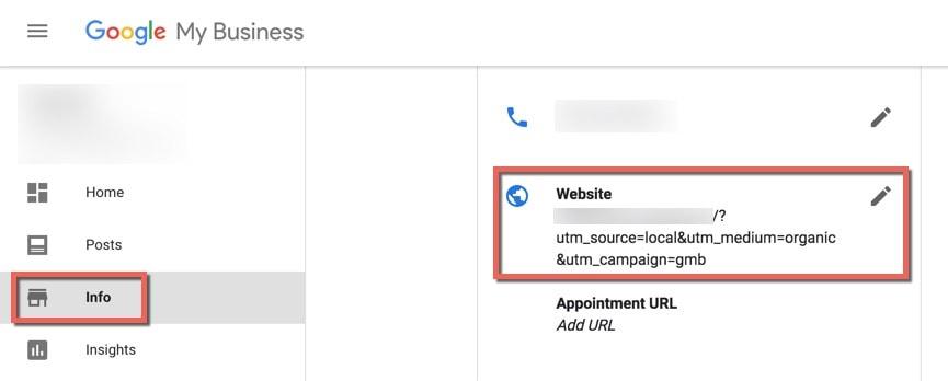 google-my-business-website-address