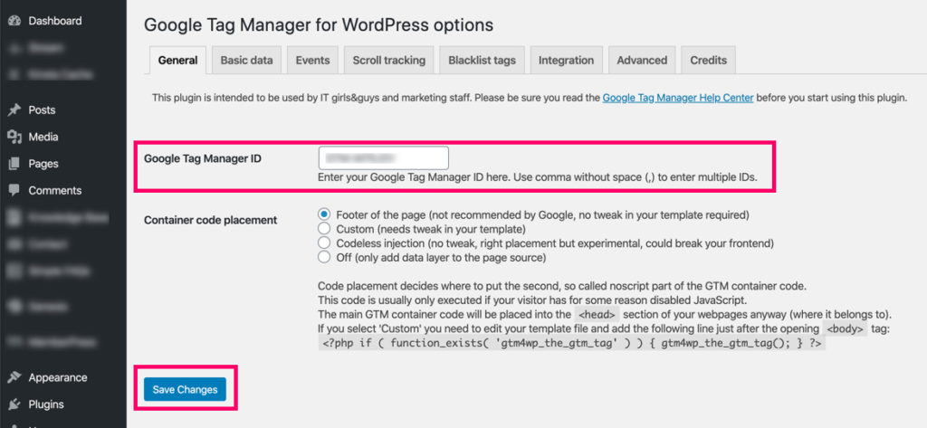 google-tag-manager-plugin-for-wordpress