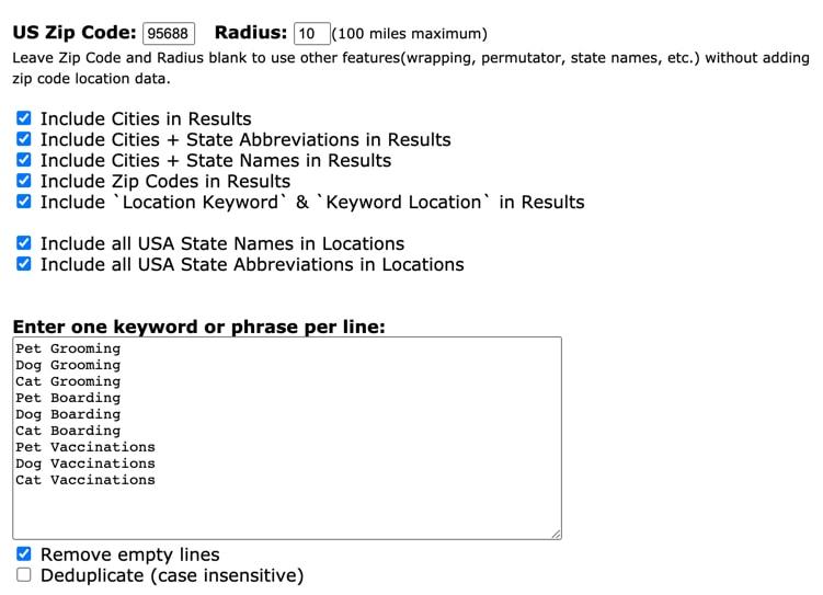 local-keyword-list-creator
