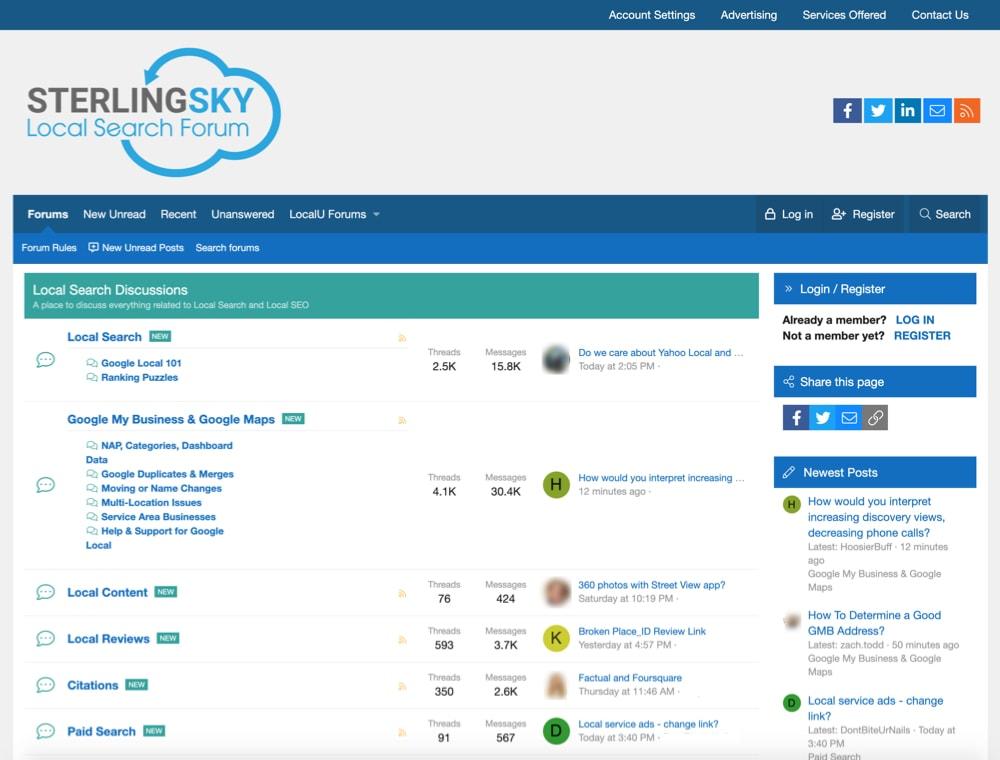 local-search-forum