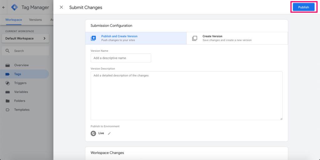 publish-gtm-changes