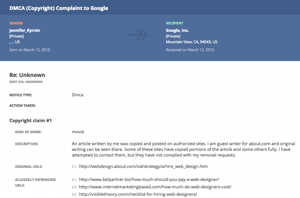 How Small Businesses Can Leverage DMCA Complaints | Pigzilla