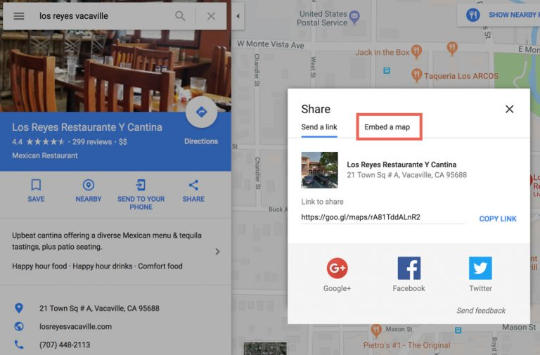 How to Embed a Google My Business Listing Onto a Website > Local SEO  Training | Pigzilla